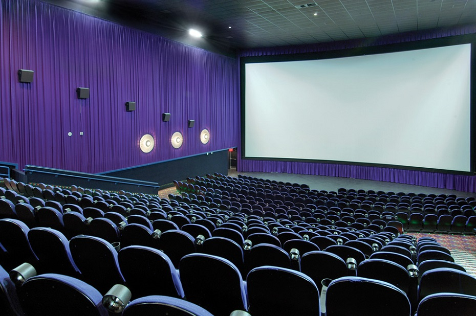 speakers are used in movie theaters